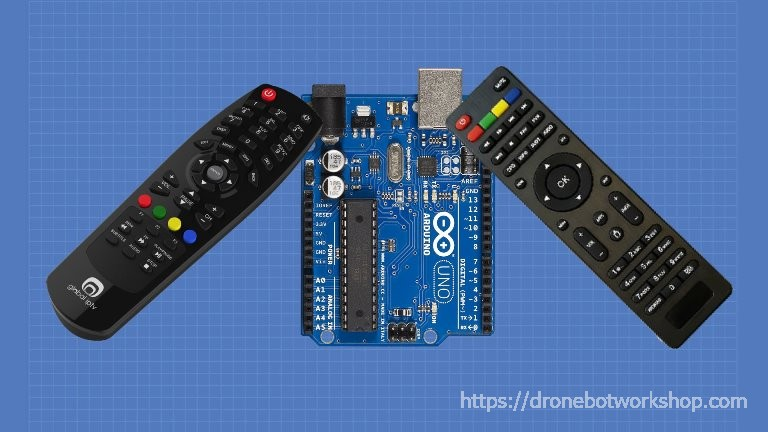 Using IR Remote Controls with Arduino | DroneBot Workshop
