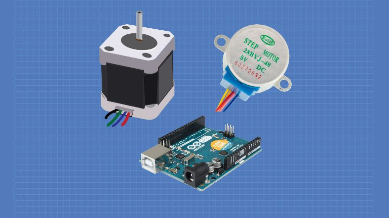 Arduino using stepper motor with Using Stepper